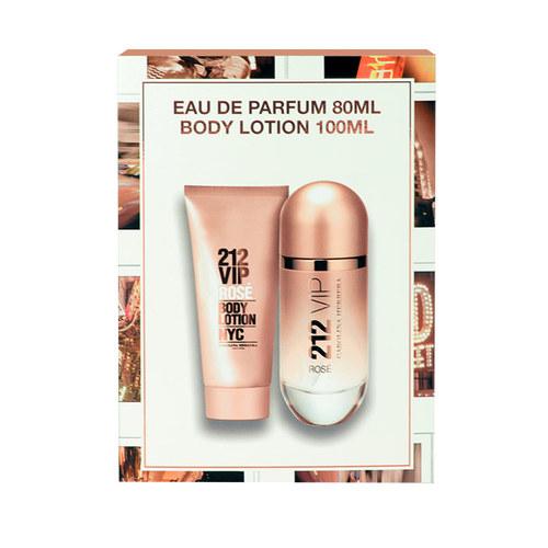 Carolina Herrera 212 Vip Rose Edp 80ml Gift Set